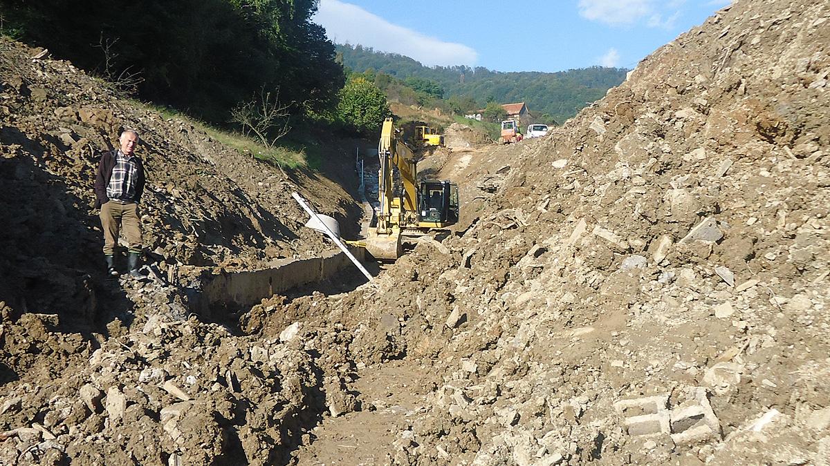 Sanacija klizišta Svrake, Općina Vogošća