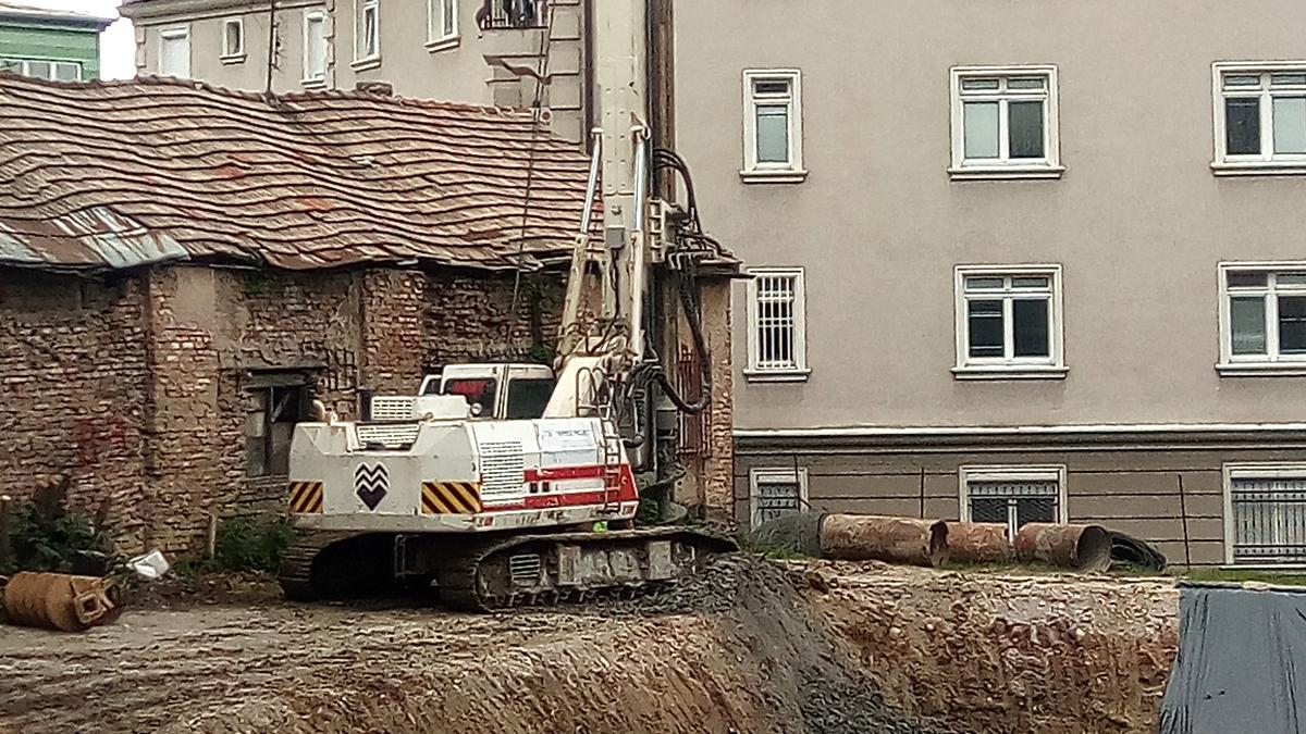 Izvođenje radova na osiguranju građevinske jame na lokalitetu u Ul. Bolnička, općina Centar, Sarajevo