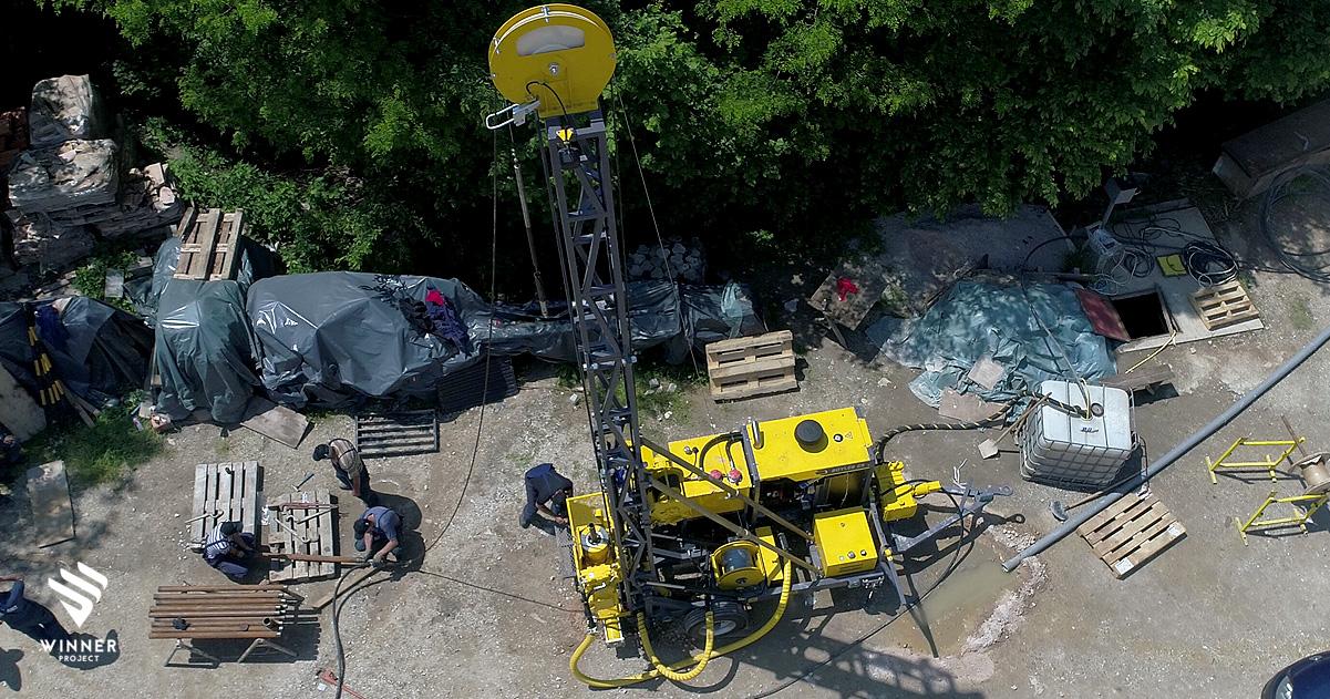 Sigurni i nesmetani istražni radovi na nepristupačnim, strmim i potencijalno opasnim terenima.
