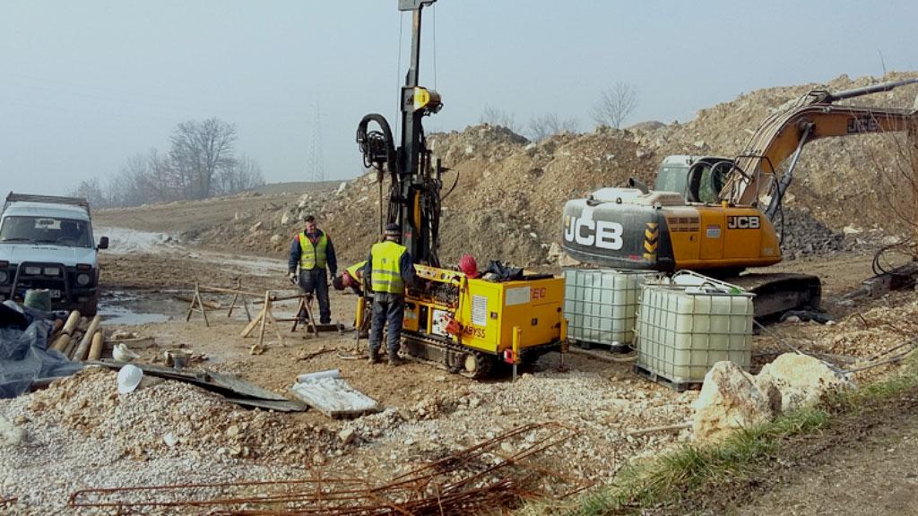 Izvođenje geoloških i geotehničkih istražnih radova na Koridoru Vc, dionica Klopče – Donja Gračanica